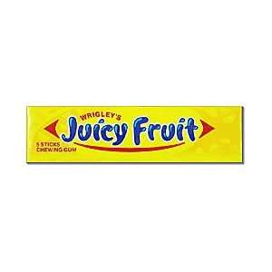 Wrigleys Juicy Fruit Gum 20ct/Box  Grocery & Gourmet Food