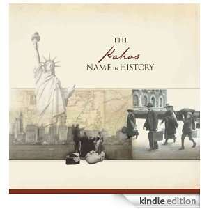 The Kakos Name in History Ancestry  Kindle Store