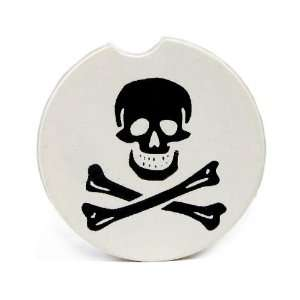 Skull & Cross Bones Single Car Coaster By Kar Koaster