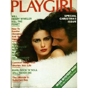 Playgirl Magazine: December 1977 (Playgirl Magazine