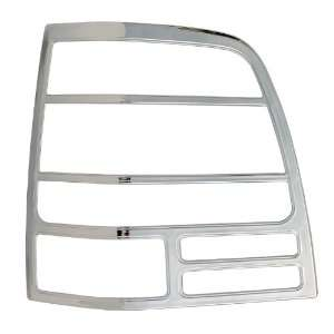 Bully TLB26814 Chrome Tail Light Bezel Cover   Pack of 2
