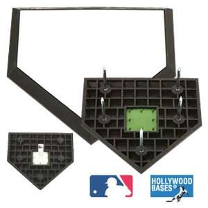 Schutt Hollywood MLB Pro Style Baseball Home Plate WHITE