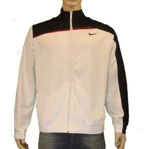 Nike Mens Performance Basketball Warm Up Jacket White
