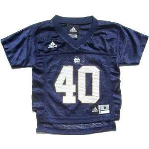 Infant Baby Notre Dame Navy College Football Jersey