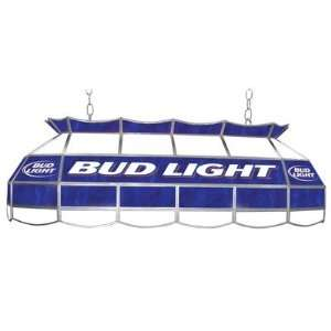 Bud Light 40 Stained Glass Pool Table Light