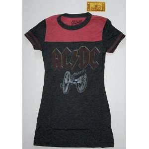 AC/DC Retro Rocker Rock Band Chaser Tee Shirt Junior Small