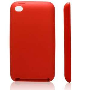 High Quality Scarlet Red Soft Silicone Protective Case