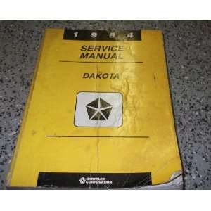 1994 Dodge Dakota Truck Service Repair Shop Manual FACTORY