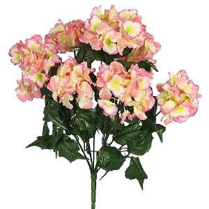 21 Beautiful Hydrangea Silk Wedding Flower Bouquet Bush