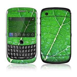 BlackBerry Curve 3G Decal Skin Sticker   Green Leaf