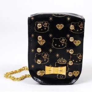 Hello Kitty Digital Camera Case Pouch Purse Black