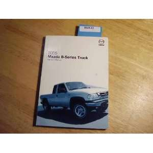 2005 Mazda B Series Truck Owners Manual Mazda Books
