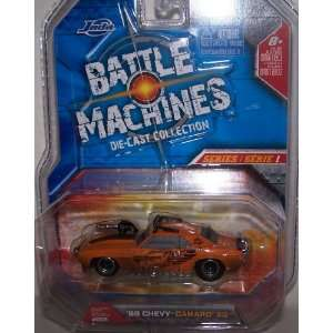 Jada Battle Machines 69 Chevy Camaro SS Black New in