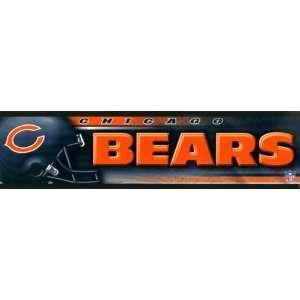 Chicago Bears Bumper Sticker Decal
