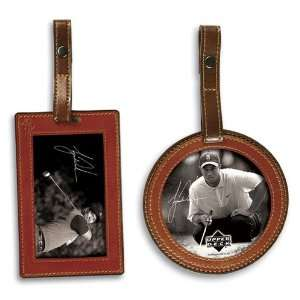 UD PGA Tiger Woods Golf Bag and Luggage Tag Set Sports