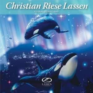 (6x6) Christian Riese Lassen 16 Month 2012 Mini Calendar
