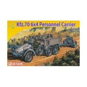 1/72 Kfz.70 6x4 Personnel Carrier + 3.7cm PaK35/36 Toys & Games
