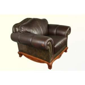 Dark Brown Classic Leather Chair