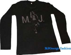 Michael Jackson Rhinestone t shirt