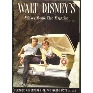 Walt Disneys Mickey Mouse Club Magazine February 1957