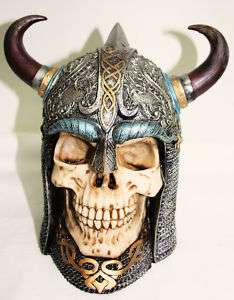 Skull Viking Money Box – NEW.Great Gift !