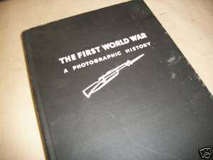 Book, First World War, Photographic History 1933