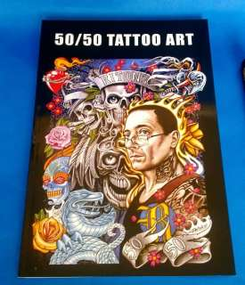 50/50 Tattoo Art Project Flash Book