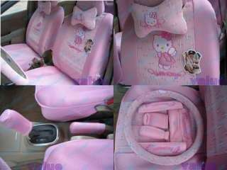 Set (16pcs)Hello Kitty Cute Car Seat Covers