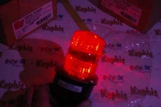 Federal Signal LP3PL 120R Streamline Red LED Signal Light Lower Price