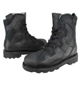 NEW HARLEY DAVIDSON REV BLACK MENS BOOTS