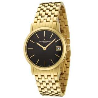 Jacques Lemans Womens GU198M Geneve Collection Baca Gold Ion Plated