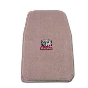 Beige Universal Fit Front Two Piece Floormat with NCAA