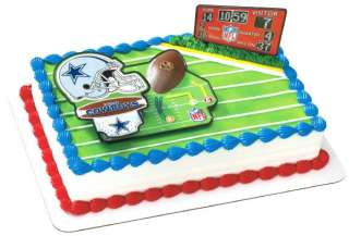 NFL FOOTBALL DALLAS COWBOYS BIRTHDAY PARTY CAKE TOPPER DECORATION
