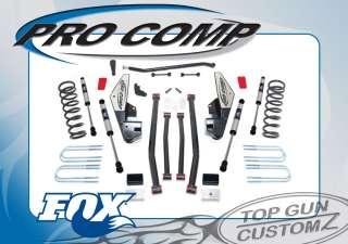 08 Dodge Ram 2500/3500 Diesel Pro Comp Long Arm Lift Kit w/ Fox Shocks