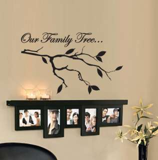 OUR FAMILY TREE Vinyl Wall Decal