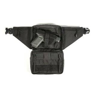 Concealed Weapon Fanny Pack with Holster and Retention Belt Loops