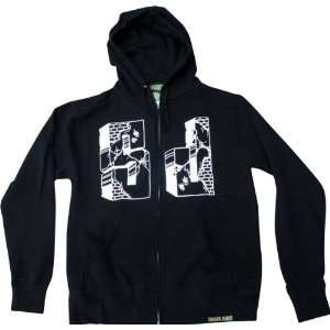 Shake Junt Suicidal Zip Hoody Sweater Small Black Skate