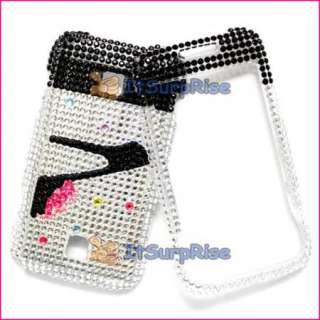 Bling High Heels Hard Case Cover For HUAWEI ASCEND M860