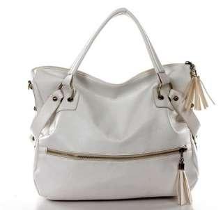 New Fashion Hot Tassels Big Leather Cross Bag Tote Handbag Shoulder