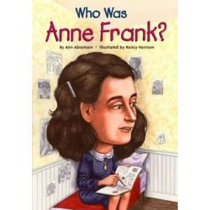 Who Was Anne Frank?   Paperback: Home & Kitchen