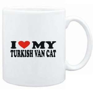 Mug White  I LOVE MY Turkish Van  Cats  Sports
