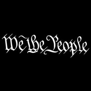 We The People Vinyl Decal Car Truck Window Sticker NEW