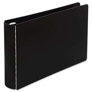 Casebound DublLock Round Ring Binder, 11 x 17, 2 Capacity, Black