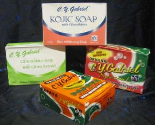 CY Gabriel Special skin whitening Soaps Selection 135g |