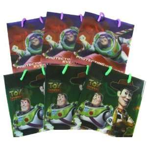 Disney Toy Story Woody and Buzz Gift Bags 12pk Toys