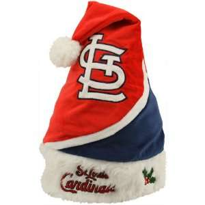 St. Louis Cardinals MLB Color Block Santa Hat