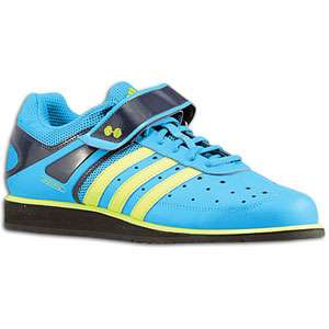 adidas Powerlift Trainer   Mens   Training   Shoes   Sharp Blue/Slime