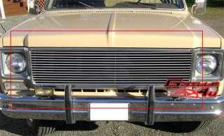 73 80 Chevy C/K Pickup/Suburban/Blazer Billet Grille S