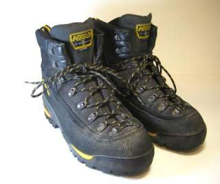ASOLO MTF 600 Mens Hiking Mountaineering Trail Boots US Size 11 NICE
