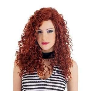 Dare Spiral Curls Fun Red Wig